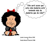 Javier LP 2ºBC y Paula MC 2ºBB